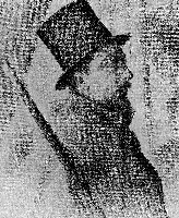 Georges Seurat Portrait of Paul Signac, 1890